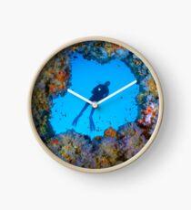 The blue Window Clock