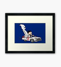 Who You Gonna Call GB? Framed Print