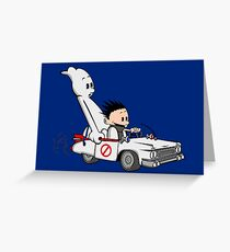 Who You Gonna Call GB? Greeting Card