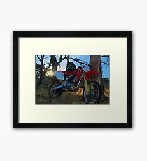 Trail Bike Framed Print