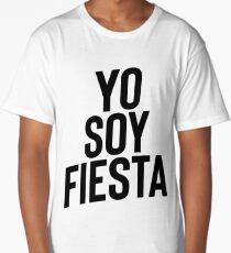 Yo Soy Fiesta ! Party Music Drinks Long T-Shirt