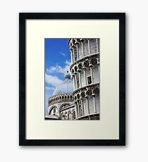 """Piazza dei Miracoli """"Square of Miracles"""" Detail Framed Print"""