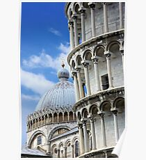"""Piazza dei Miracoli """"Square of Miracles"""" Detail Poster"""