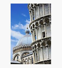 "Piazza dei Miracoli ""Square of Miracles"" Detail Photographic Print"