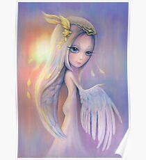 Ofelia Angel, Oil painting Poster
