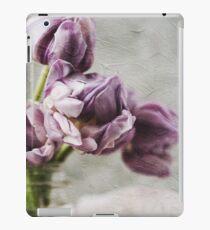 Painterly Purple Tulips iPad Case/Skin