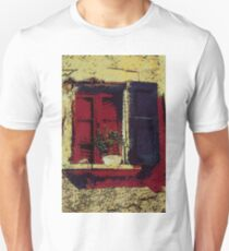 Abstract Shutters of Italy Unisex T-Shirt