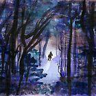 Rider in the night by Niina  Niskanen