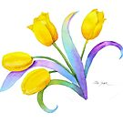 Tulip Fantasy, Just for Fun by Pat Yager