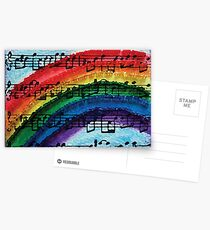 I Can Sing a Rainbow Postcards