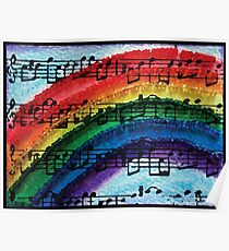 I Can Sing a Rainbow Poster