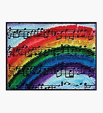 I Can Sing a Rainbow Photographic Print