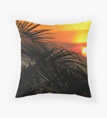 Punta Fuego Sunset Throw Pillow