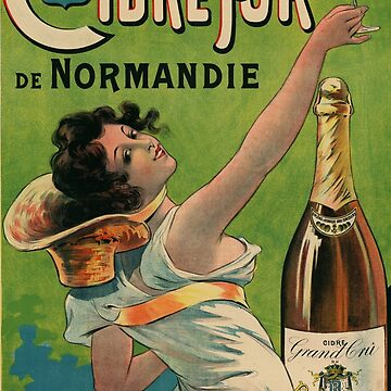 French Cider poster by ArtMakesHappy