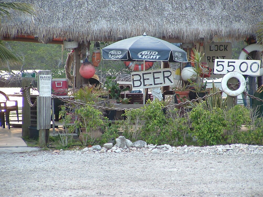Local Yocal Beer Hut on the Intracoastal Waterway, North Beach Hollywood Florida by northbeacher