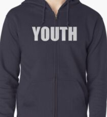Youth Zipped Hoodie