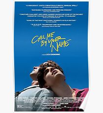Call Me By Your Name Elio Poster