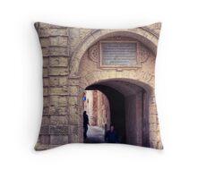 Greek's Gate - Mdina, Malta 2 Throw Pillow