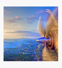 Over Miami Photographic Print