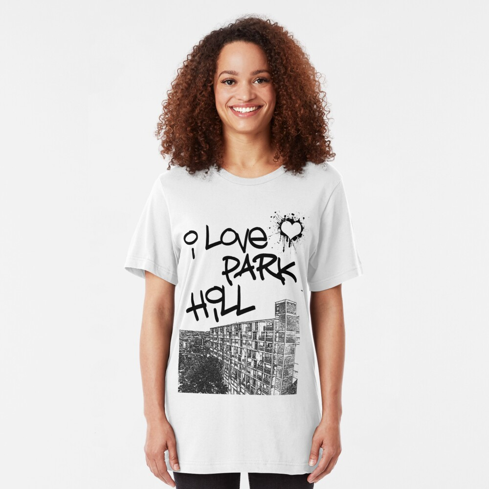 I Love Park Hill Slim Fit T-Shirt