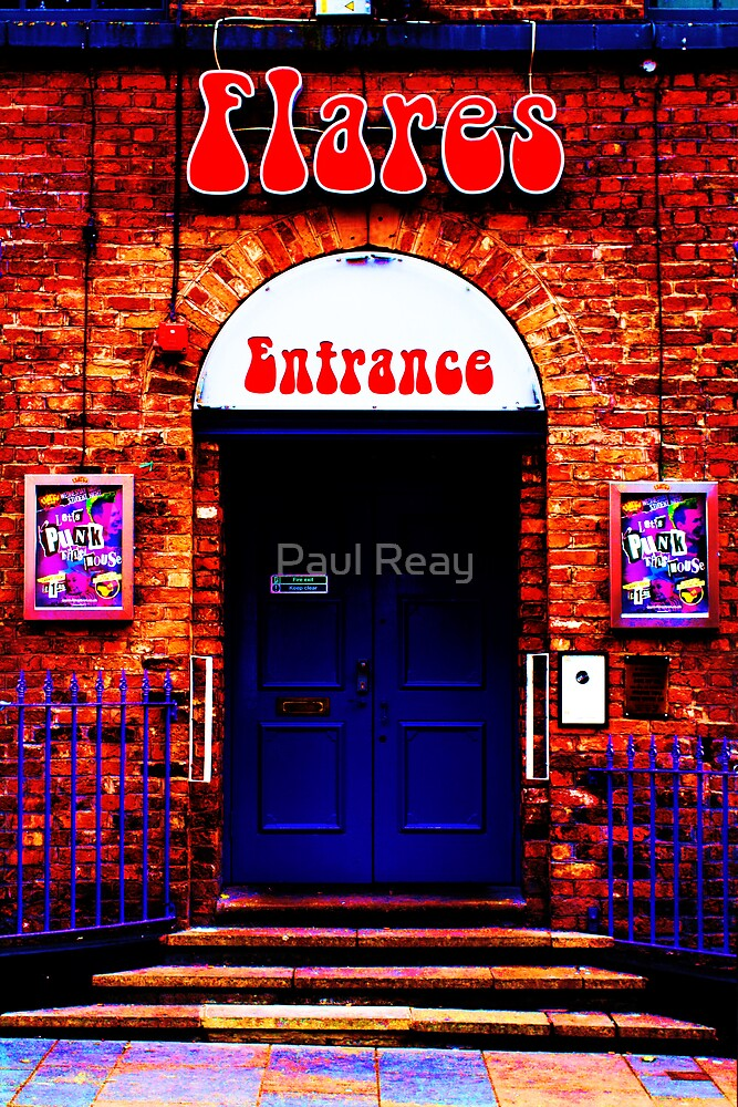 Flares disco bar by Paul Reay