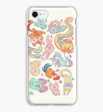 Chinese Animals of the Year iPhone Case/Skin