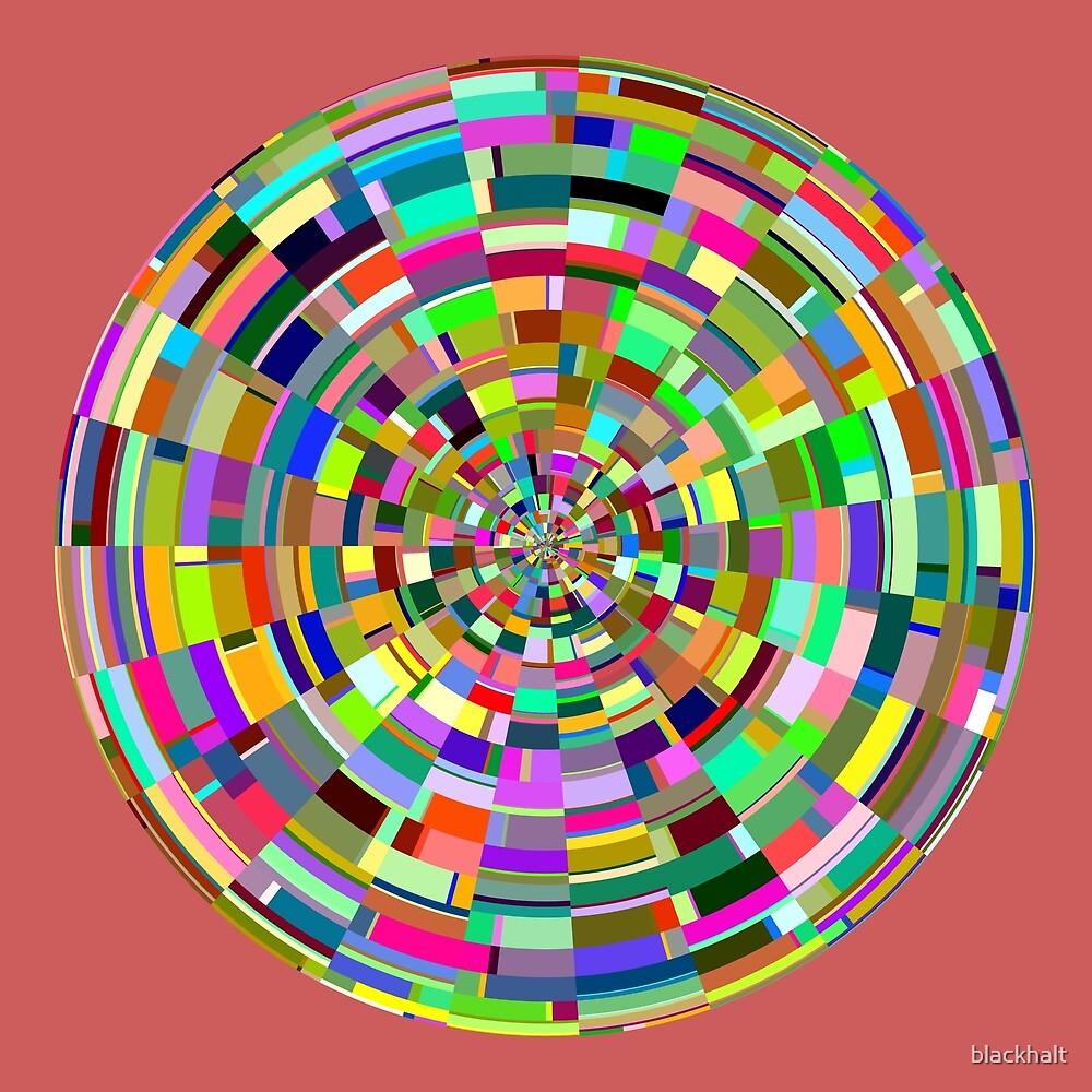 Abstract sphere by blackhalt