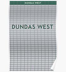 DUNDAS WEST Subway Station Poster