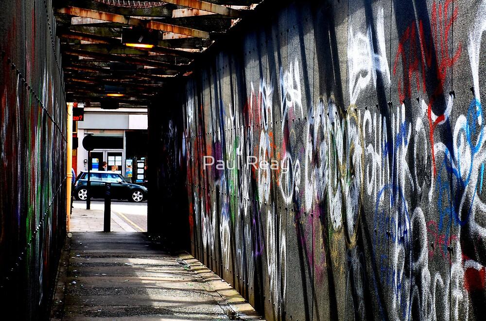 Graffiti bridge by Paul Reay