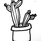 Cactus Pot by drawn2design