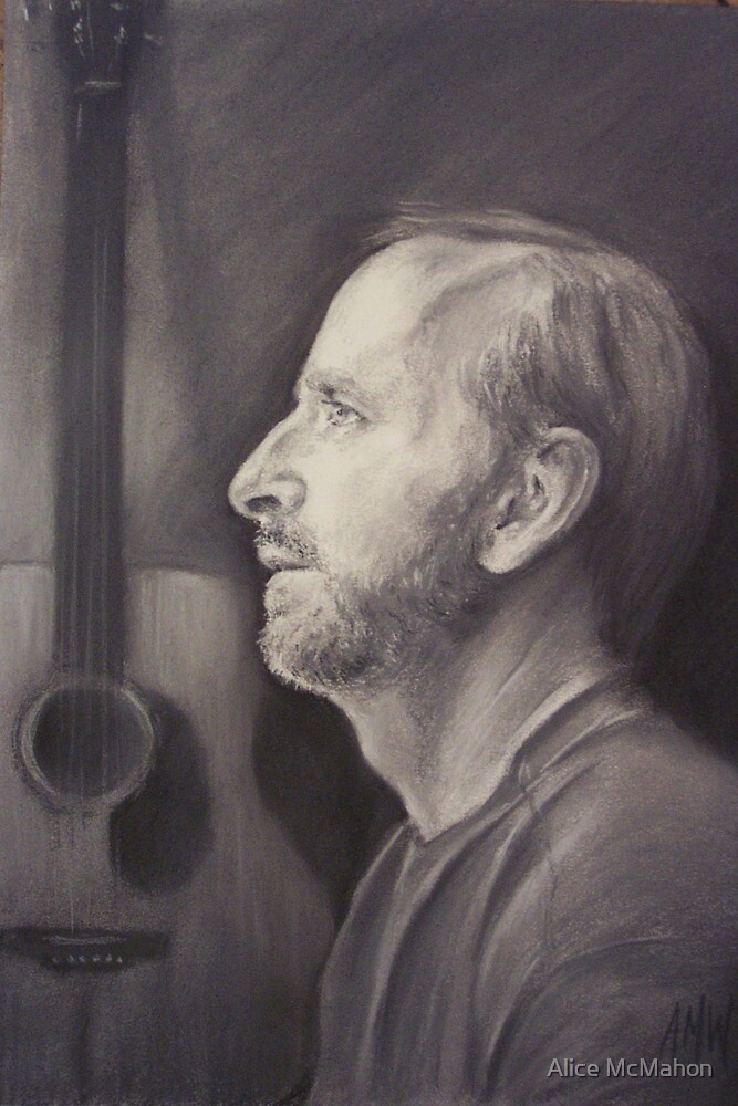 Portrait of Steve by Alice McMahon