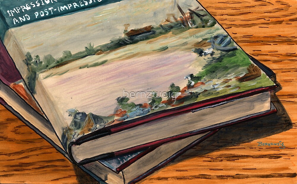 Stack of Art Books by bernzweig