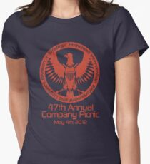 2012 Company Picnic Women's Fitted T-Shirt