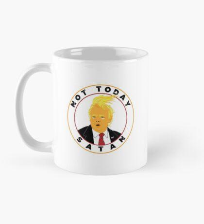 Not Today Satan Trump Mug