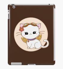 Steampunk kitty horoscope - VIRGO iPad Case/Skin