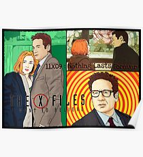 X files 11X09 nothing lasts forever by Mimie  Poster