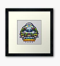 The Funny Side Framed Print