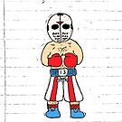 Mike Tyson Punch Out Jason Sticker by Cpayneloudon85