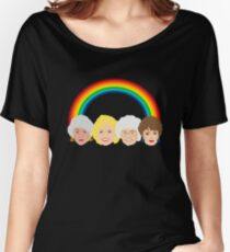 Das goldene Mädchen LGBT Pride Design Baggyfit T-Shirt