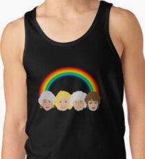 The Golden Girls LGBT Pride Design Tank Top
