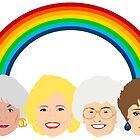 The Golden Girls LGBT Pride Design by gregs-celeb-art