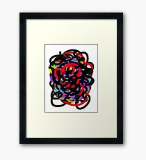 Mish Mash Framed Print