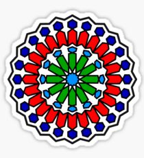 Traditional Moroccan Pattern Sticker