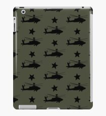 AH-64 Apache Helicopter Pattern iPad Case/Skin