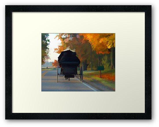 Amish Church Bound by Dennis Granzow