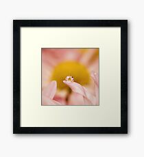 """""""In one drop of water are found all the secrets of all the oceans"""" Framed Print"""