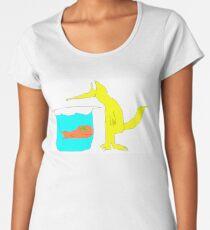 Fox and Goldfish Women's Premium T-Shirt