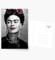 Halftone Frida Postcards