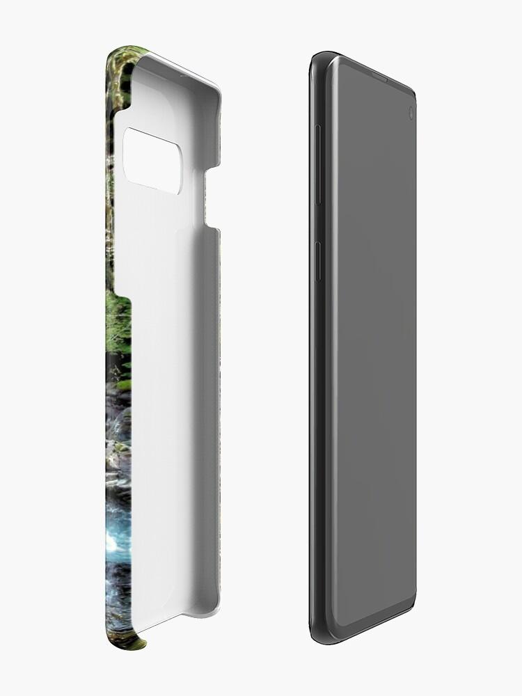 Alternative Ansicht von Sol Duc River - Olympischer Nationalpark Hülle & Klebefolie für Samsung Galaxy