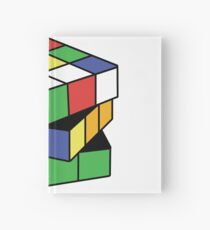 Retro Puzzle Love Hardcover Journal